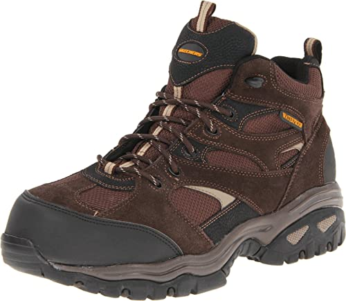 Skechers Men's Energy-Clan Waterproof Work Boots