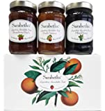 Sarabeth's Legendary Spreadable Fruit - 3 Jar Gift Pack - Peach-Apricot, Mixed Berry and Strawberry Peach