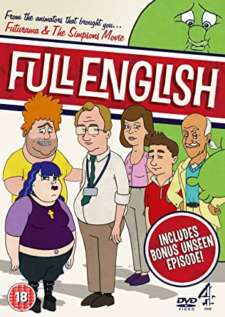 Full English Series 1 Dvd Amazoncouk Richard Ayoade Rosie