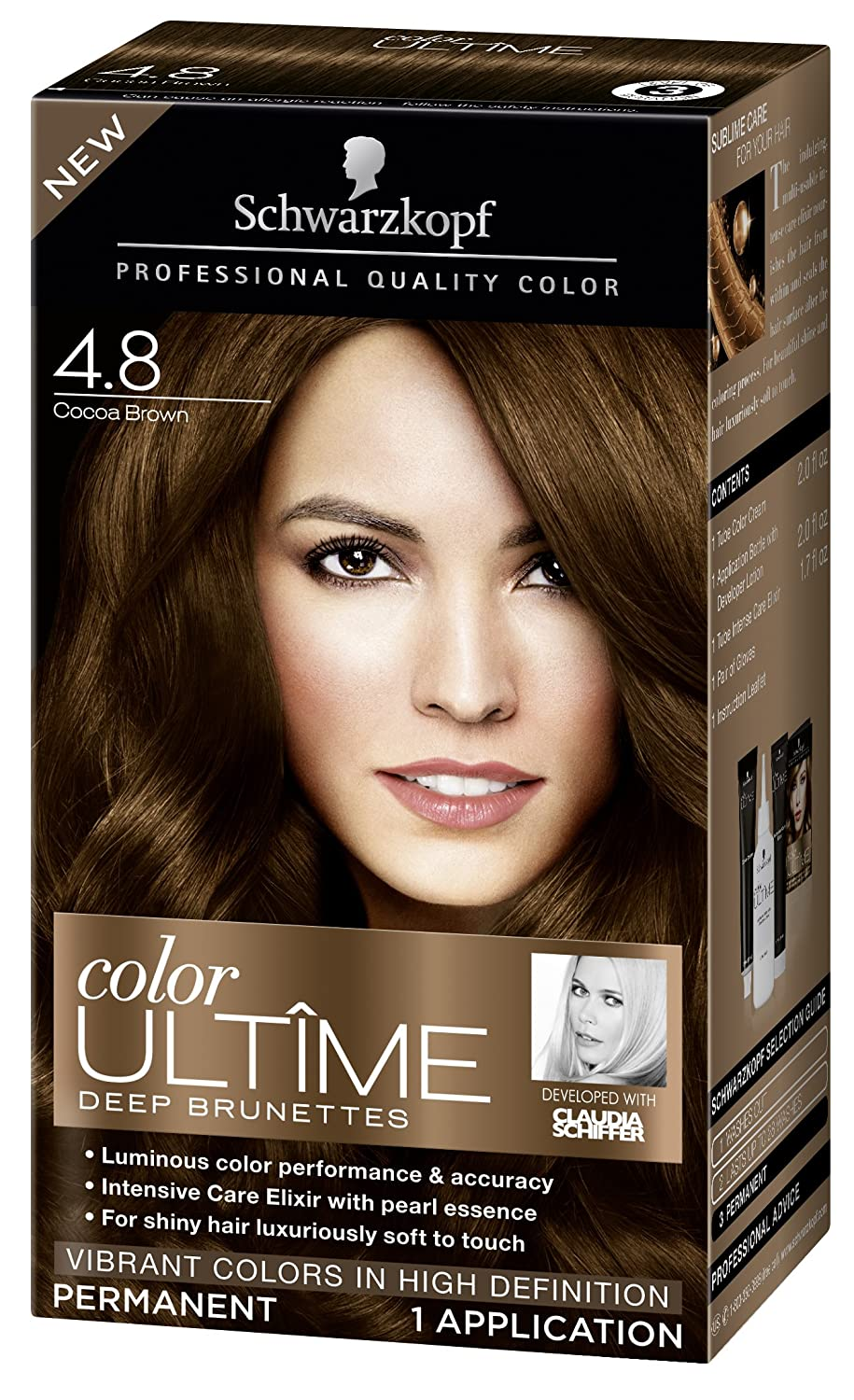 Cocoa Brown 48 Ultime Hair Color Schwarzkopf Ultime Hair Color