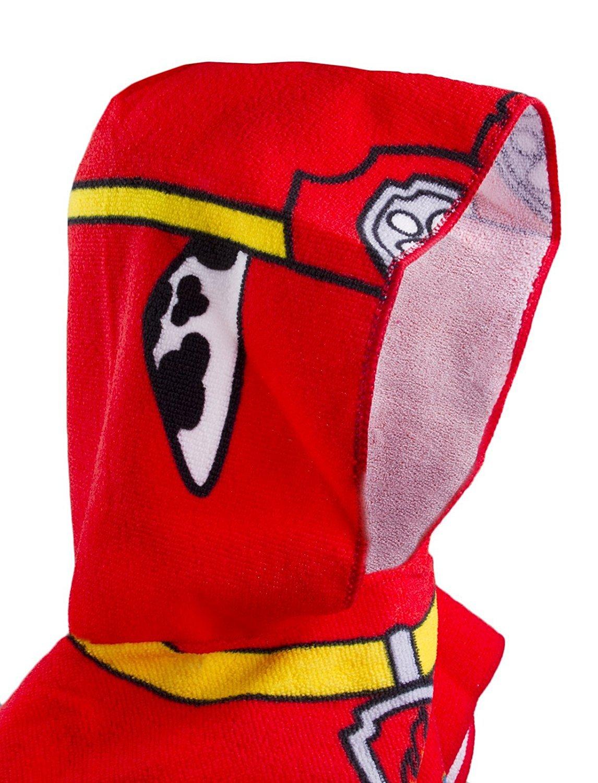 Kids Paw Patrol Bath Towel Poncho - Marshall Nickelodeon
