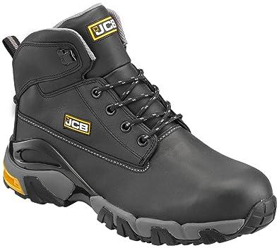 JCB 4x4 B - Botas de Seguridad para Hombre, Negro, 39 EU (6