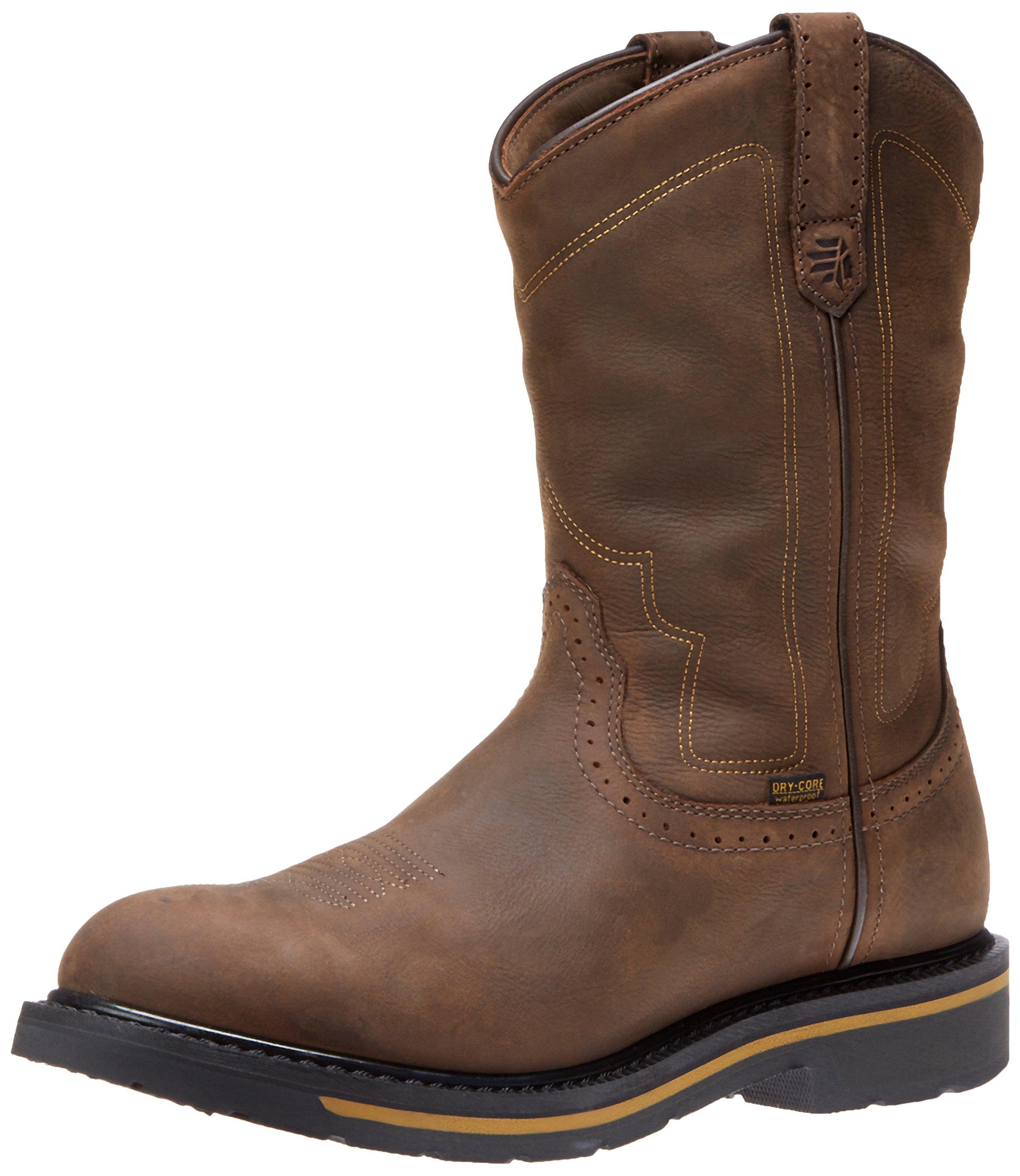 Lacrosse Men's Tallgrass Western Toe 11 Inch Work Boot,Brown,10 W US