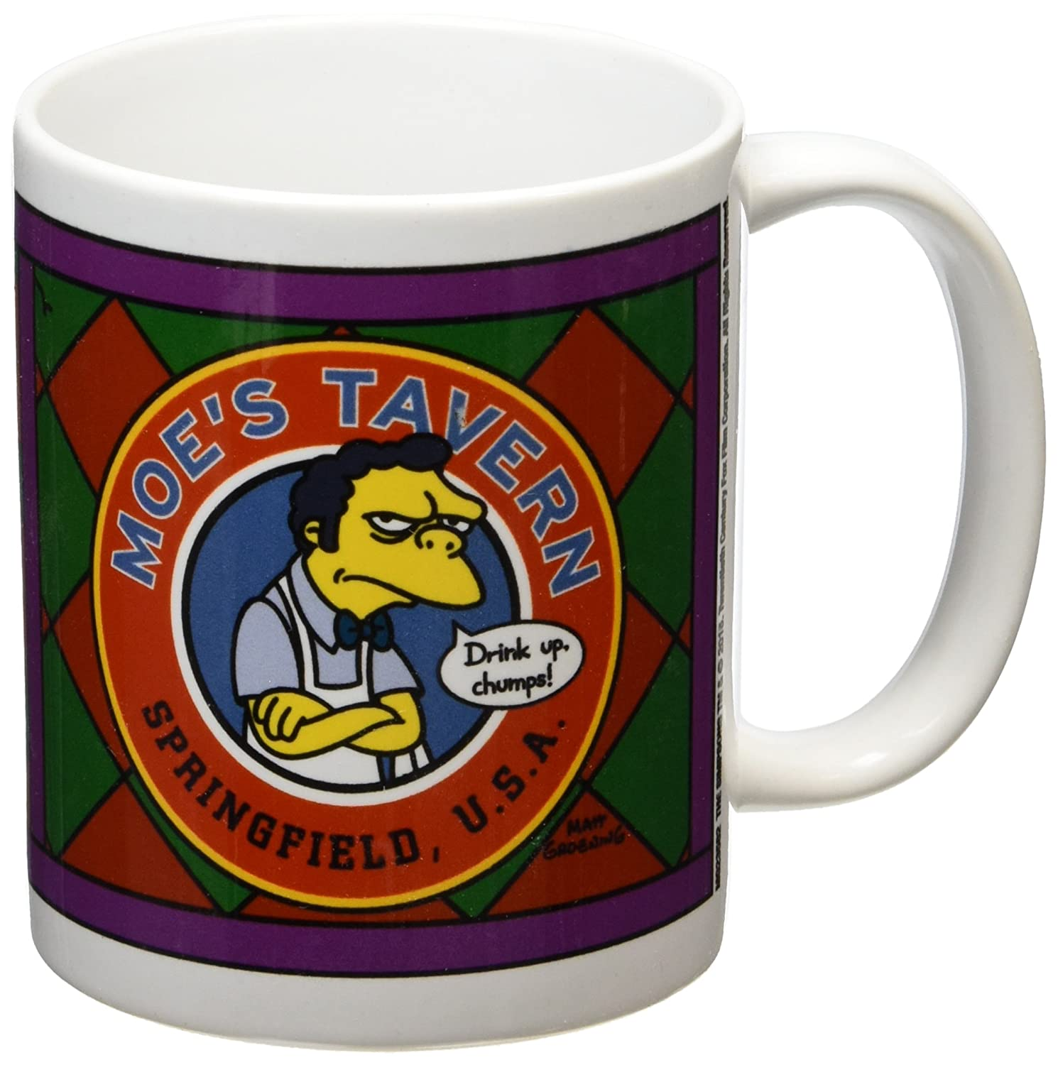 Simpsons Taza Moe´s Tavernhttps://amzn.to/2UXUrTu