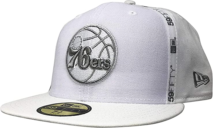 New Era Philadelphia 76ers 59Fifty Fitted Hat NBA Official Cap