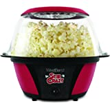 West Bend 82707 Stir Crazy Popcorn Machine, Red