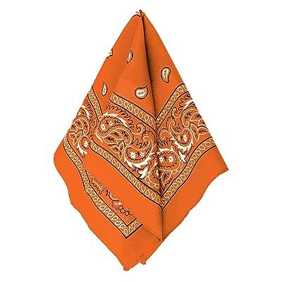 Amscan Bandana, Party Accessory, Orange: Clothing