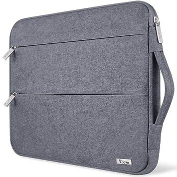 Voova 11.6 Inch Funda para Portatil De Ordenador,Resistente Al Agua Computadora Estuche Bolso Maletin para MacBook Air/Pro/Retina, Chromebook, Samsung, ...