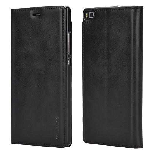 4 opinioni per Custodia Huawei P8, Cover Huawei P8, Mulbess [Portafoglio Protettiva] Custodia