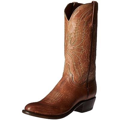 Lucchese Classics Men's Crayton-Tn Burn Md Goat Riding Boot | Western
