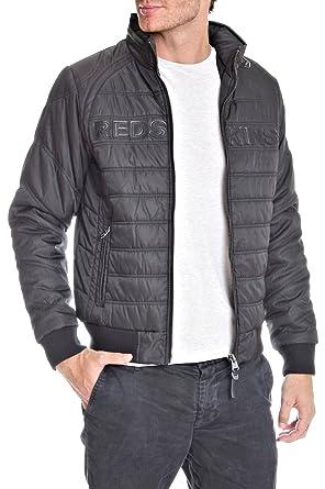 d1d105d72a11 Redskins VESTE BIKY SANCHEZ NOIR  Amazon.fr  Vêtements et accessoires