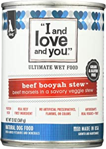 I and love and you Beef Booyah Stew Canned Dog Food, 13 oz.