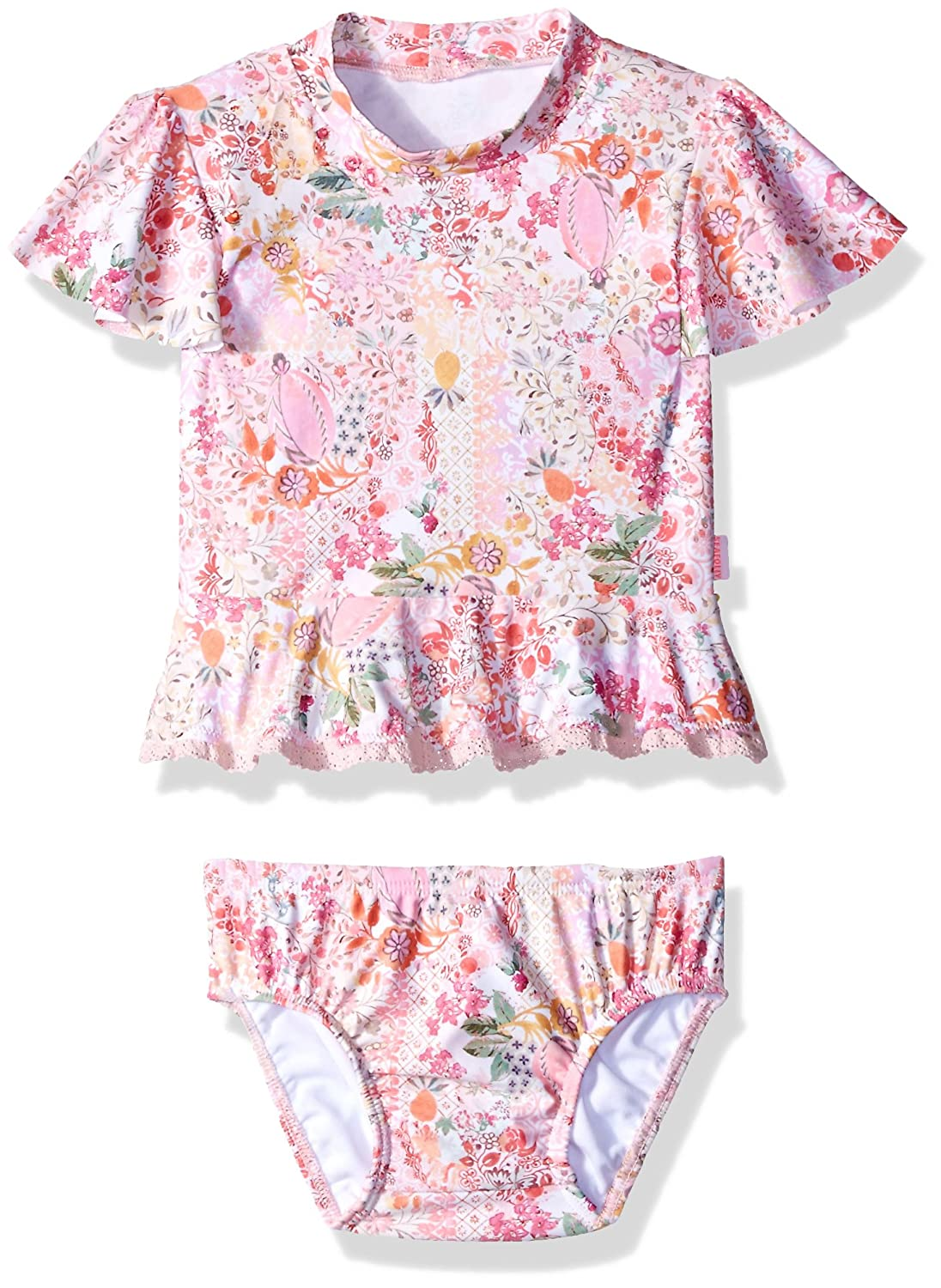 Seafolly Baby Little Prairie Girl Rashie Set 26217T