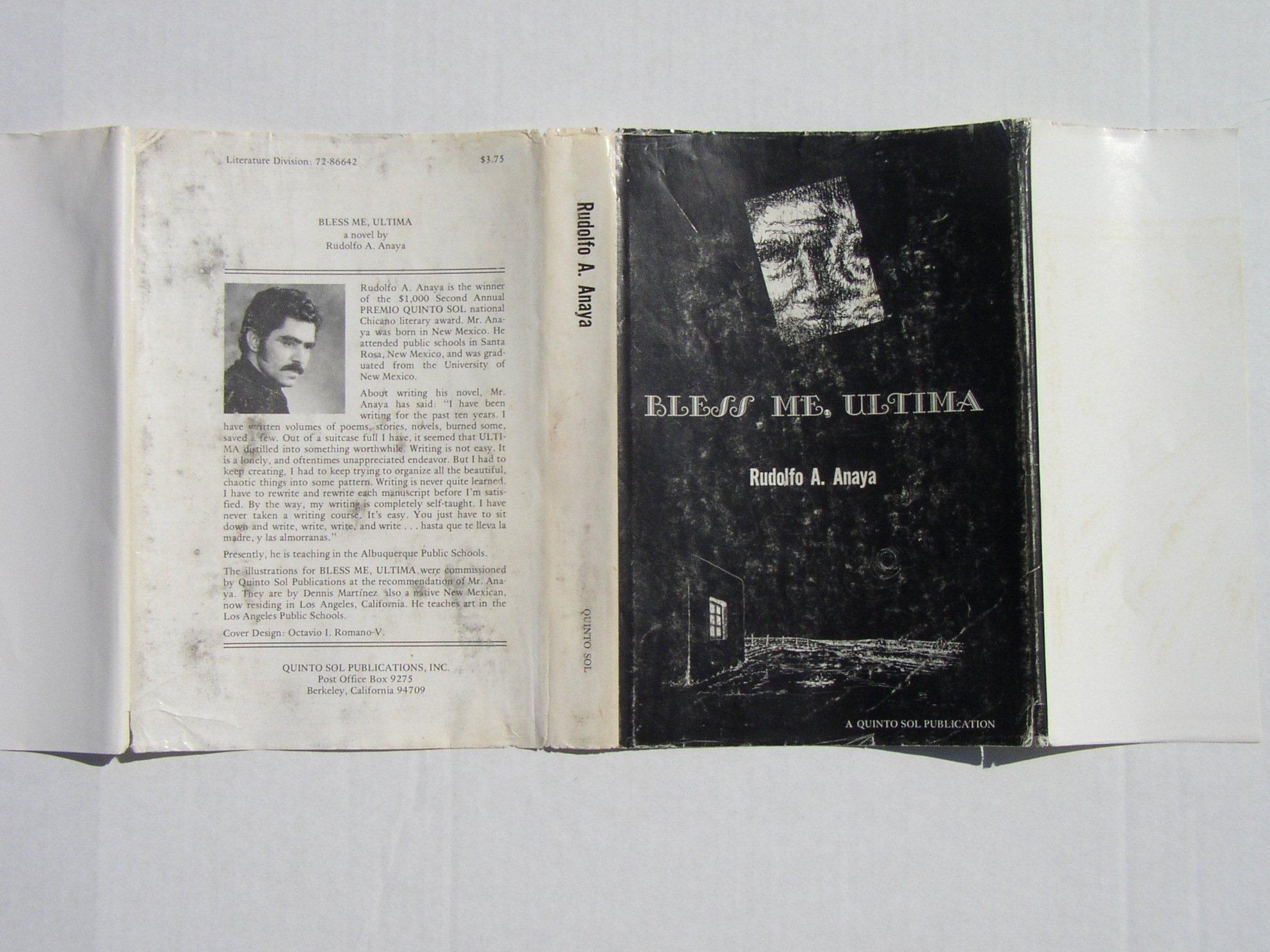Bless Me Ultima 1st Edition 1st Printing Rudolfo A Anaya