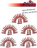 100 Ersatzmesser FAT 18 B3 Akku Rasentrimmer LIDL FLORABEST IAN 102971 + IAN 273039 (Messr / Messerchen / Schneidplättchen)
