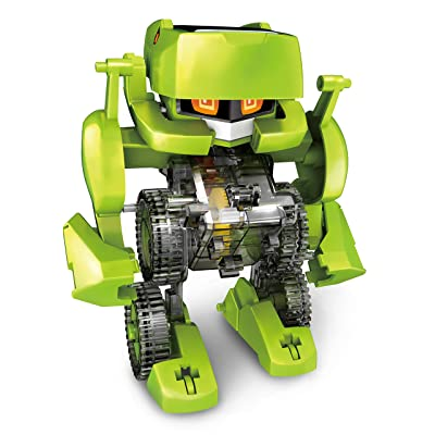 Elenco Teach Tech Meta.4, Transforming Robot, STEM Solar Toys for Kids 8+: Toys & Games