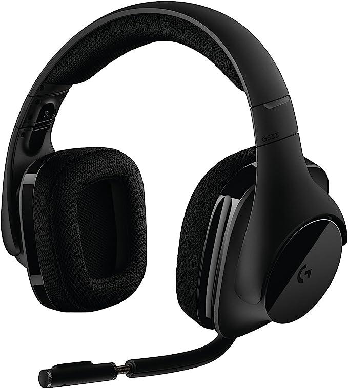Logitech G533 Wireless Gaming Headset DTS 7 1
