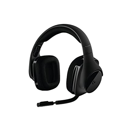 Image Unavailable. Image not available for. Color  Logitech G533 Wireless  Gaming Headset – DTS 7.1 Surround ... 4e033aac1ddf
