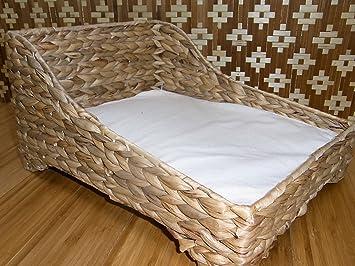 Gato Cesta cesta perros y gatos perros cama cama jacinto de agua muñecas 315: Amazon.es: Productos para mascotas