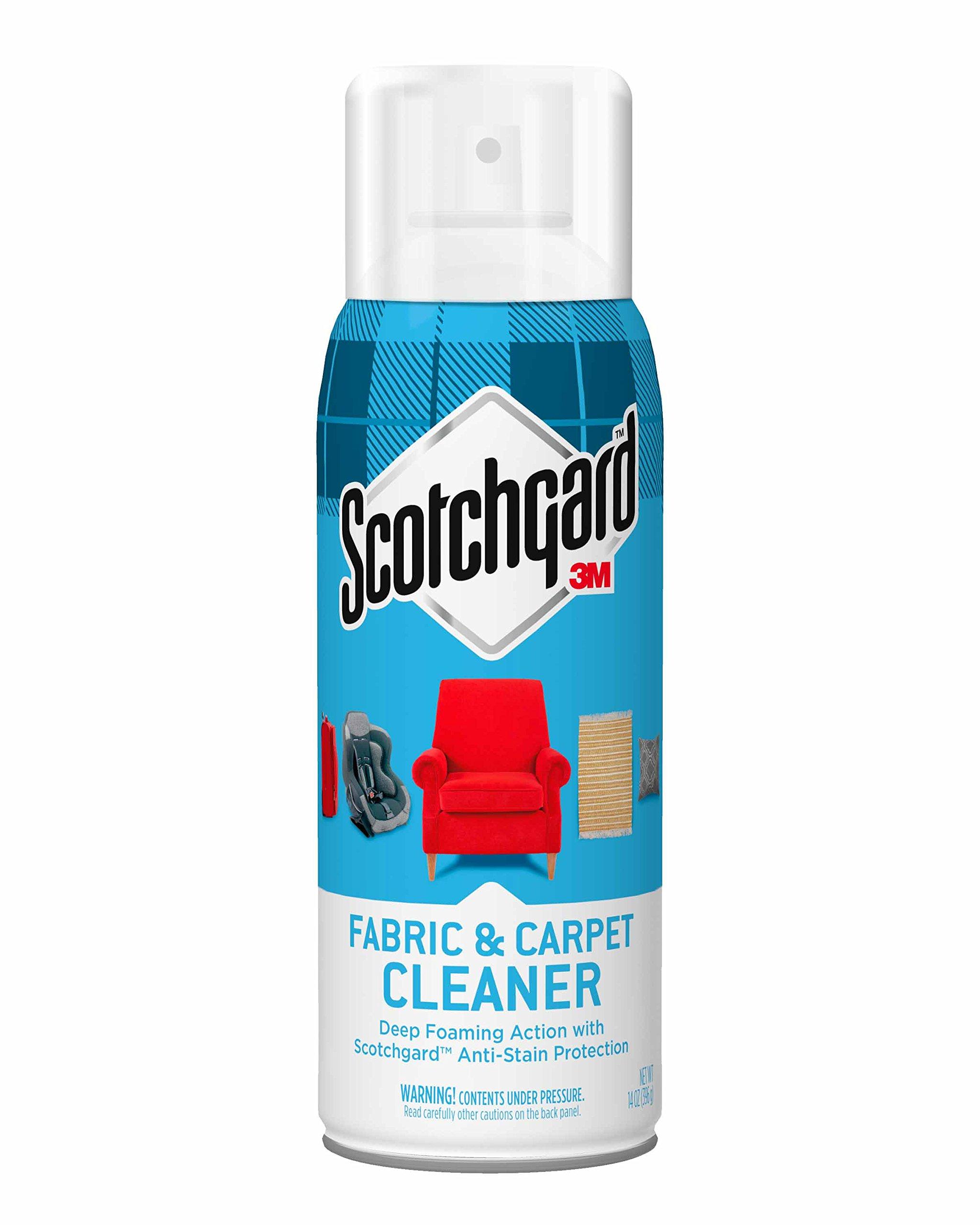 Scotchgard 7100096524 Fabric & Carpet Cleaner, 1 Can, 14-Ounce