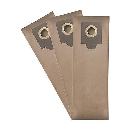 ✧WESSPER® Bolsas de aspiradora para STANLEY STN20S (3 ...
