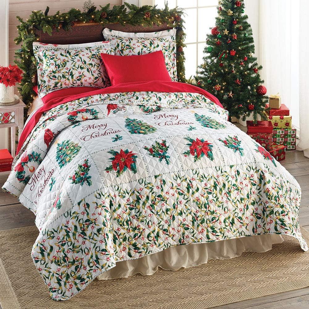 christmas bed sheets full