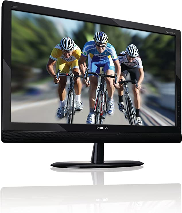 Philips 221TE2LB- Monitor LCD con sintonizador de TV digital, 22 pulgadas: Amazon.es: Informática