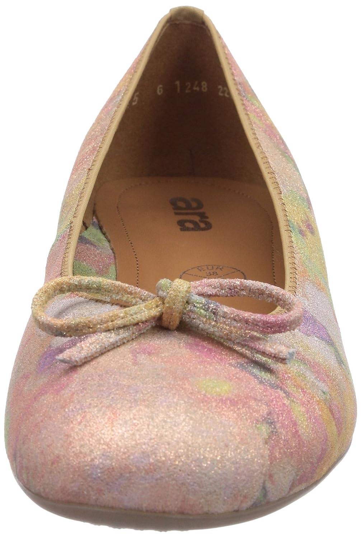 Ara Bari, Damen Geschlossene (Plush Ballerinas Beige (Plush Geschlossene 24) 02ae89