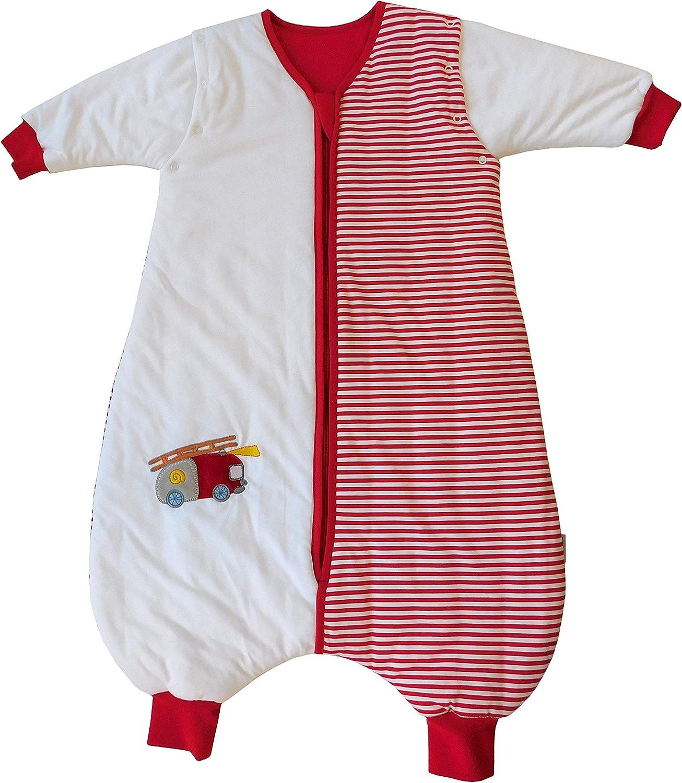 Slumbersac Sleeping Bag with Long Removable Sleeves 2.5 Tog Dinosaur 0-6 months//70cm