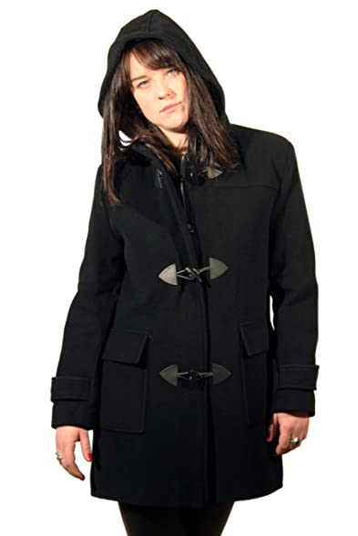 De La Creme - Wool Womens Winter Duffle Coat: Amazon.co.uk: Clothing