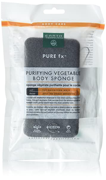 Pure fx Purifying Body Exfoliator with Medicinal Bamboo Charcoal by Earth Therapeutics (PACK OF 3) Babyface Miracle Seaweed Serum Sea Kelp & Algae Repair Serum, 1.1 oz.