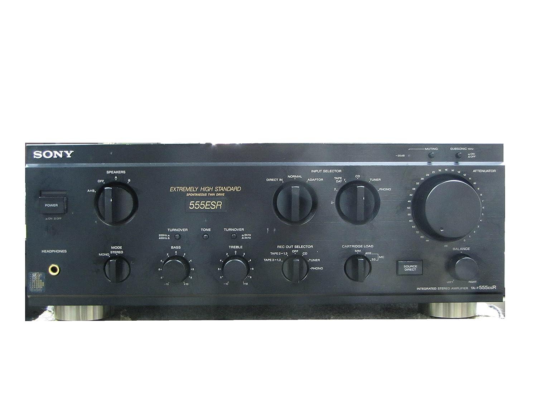 SONY ソニー TA-F555ESR プリメインアンプ   B01MZ7LUF6