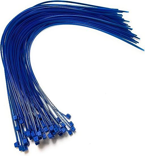 Nylon Kunststoff Kabelbinder Lang Und Breit Xl Größe Kabelbinder Schwarz Und Weiss Plastik 4 8mm X 450mm Blau Baumarkt