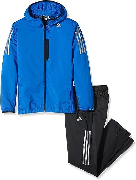 adidas Cool365 Ts WV - Chándal para hombre, color azul/negro ...