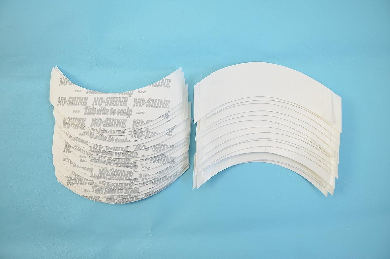 AIRAO No Shine Bonding Tipe Tape Strips Wig Tape Forma de doble cara CC Contour 36 piezas por bolsa