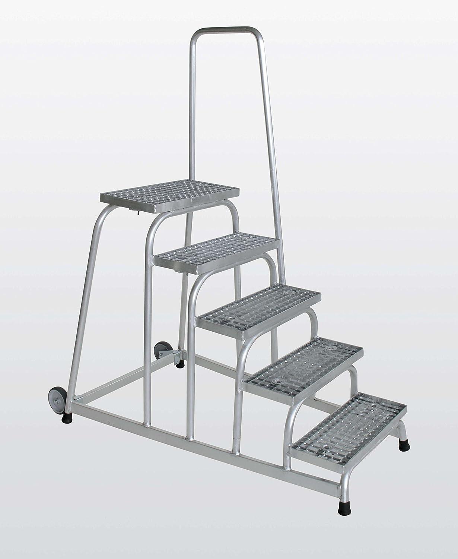 2 Stufen Arbeitsh/öhe bis ca 2,50 m Aluminium-Arbeitspodest einseitig begehbar