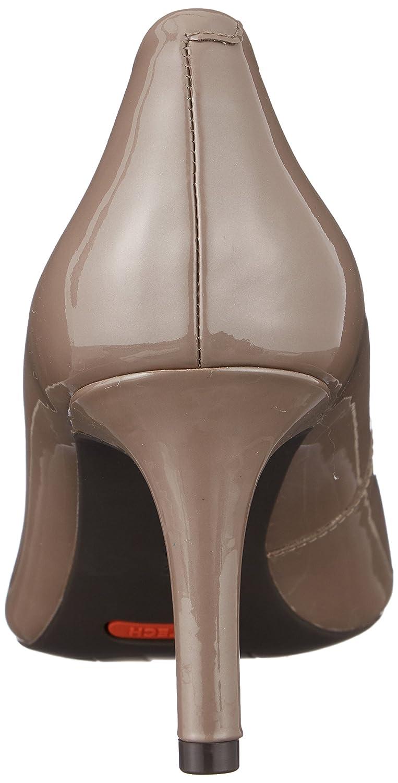 Rockport Damen Total Pump Motion 75mm Pointy Toe Pump Total Geschlossene Zehenfersen Beige (Taupe Grau Pearl Patent) 313c45