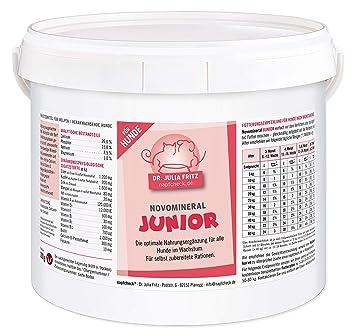napfcheck Novo Mineral Junior – para Perros – 3000 g