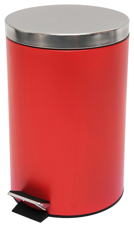 MSV Pedal Bin, Red, 20 Litre 100372 MS611_Rojo