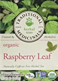 Traditional Medicinals Organic Raspberry Leaf Herbal Wrapped Tea Bags - 16 ct - 2 pk