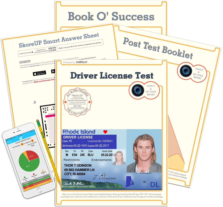 rhode island driver test practice