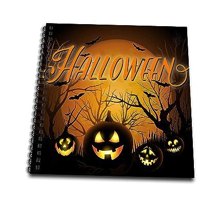 Creepy Halloween Pumpkin Drawings.Amazon Com 3drose Sven Herkenrath Celebration Horror