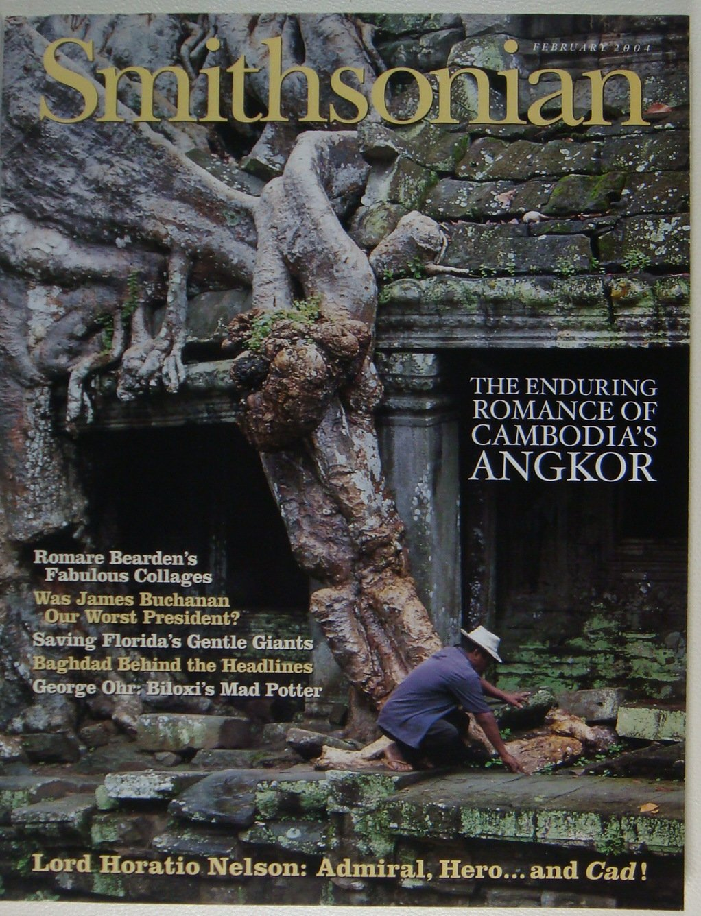 Read Online Smithsonian Magazine (February 2004) [Cover Story: Angkor Wat] PDF