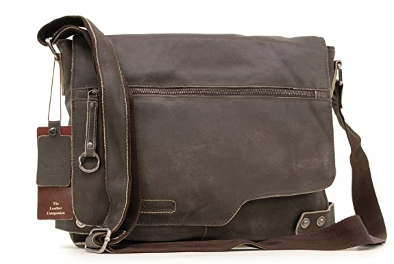 Ashwood Laptoptasche Leder Herren