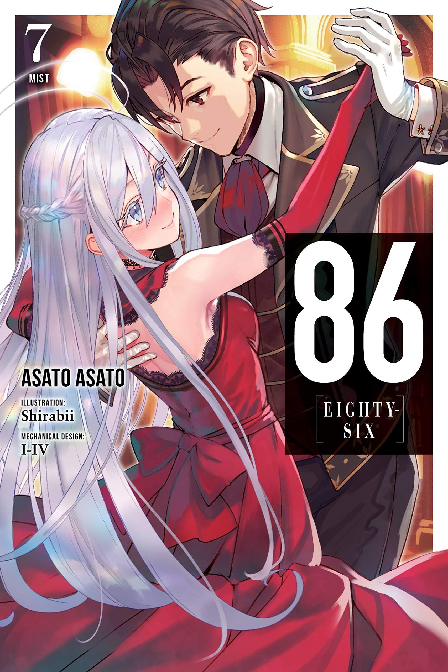 86 Eighty Six Vol 7 Light Novel Mist 86 Eighty Six Light Novel Amazon Co Uk Asato Asato Shirabii Books
