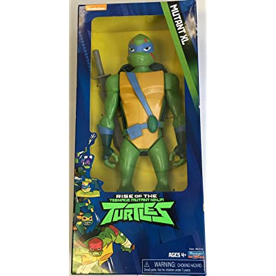Rise of the Teenage Mutant Ninja Turtles Leonardo XL Figure: Toys & Games