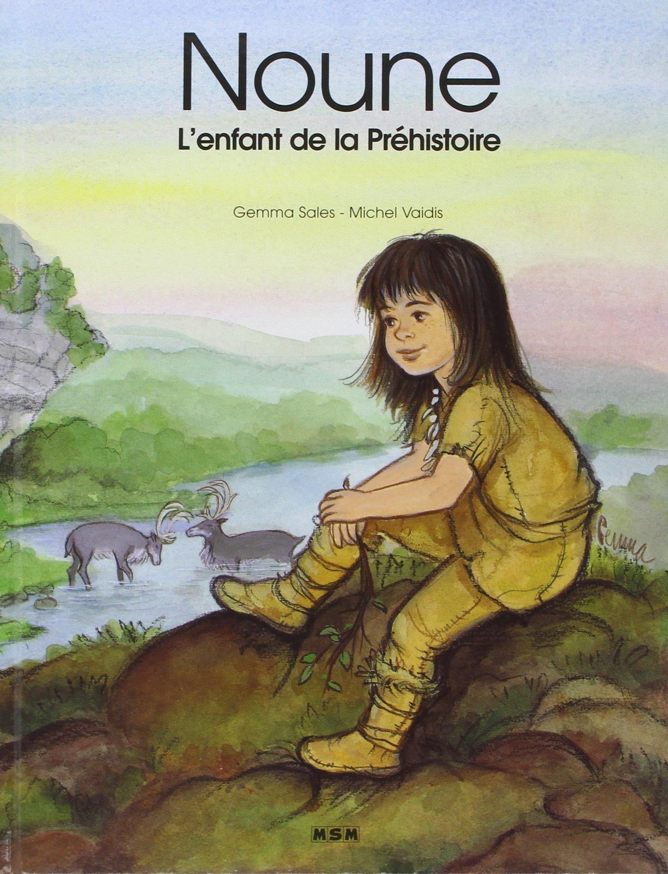 Noune L Enfant De La Prehistoire Amazon Fr Sales Gemma Vaidis Michel Livres
