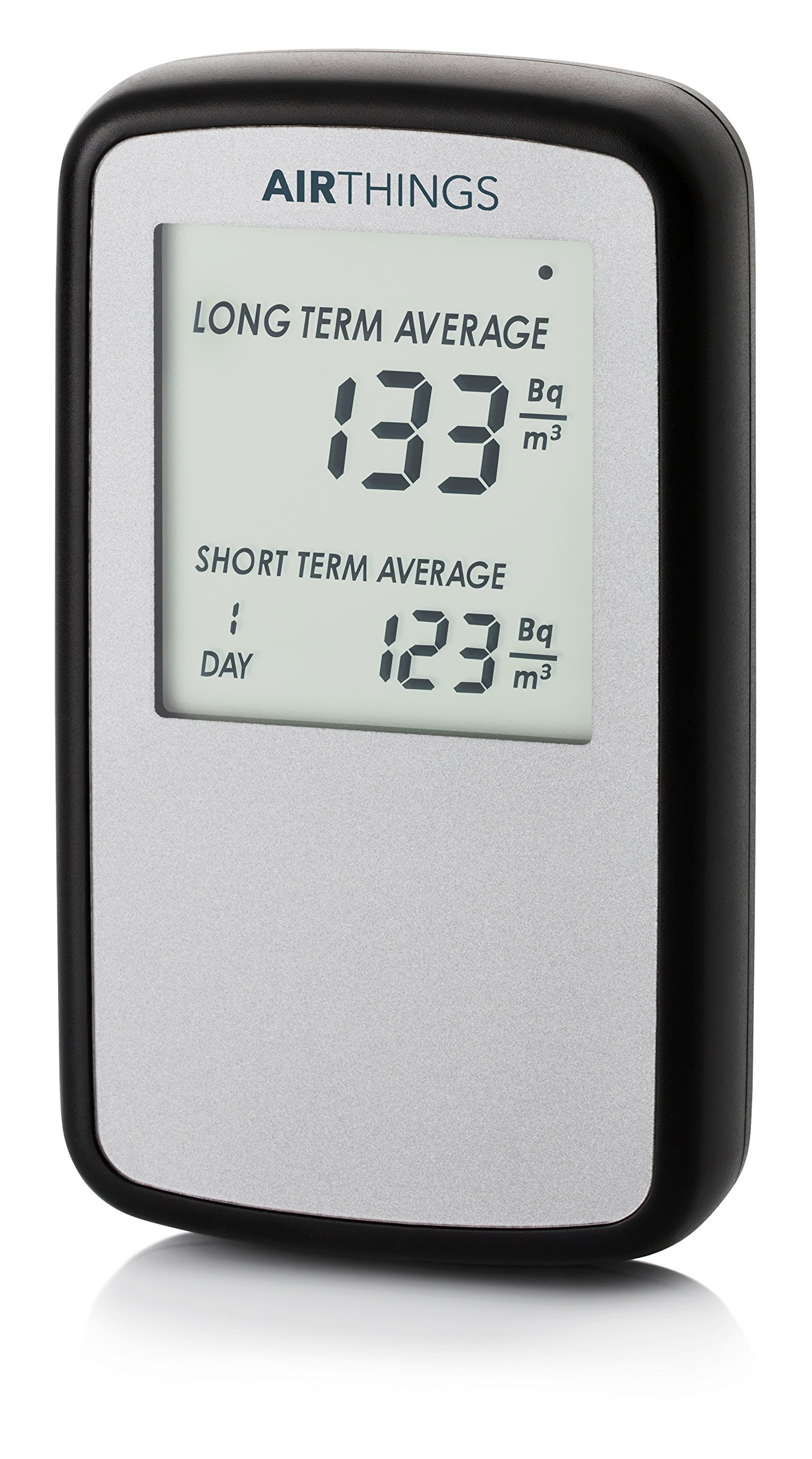 Corentium Home Radon Detector by Airthings 224 Portable, Lightweight, Easy-to-Use, (3) AAA Battery Operated, International Version, Bq/m³