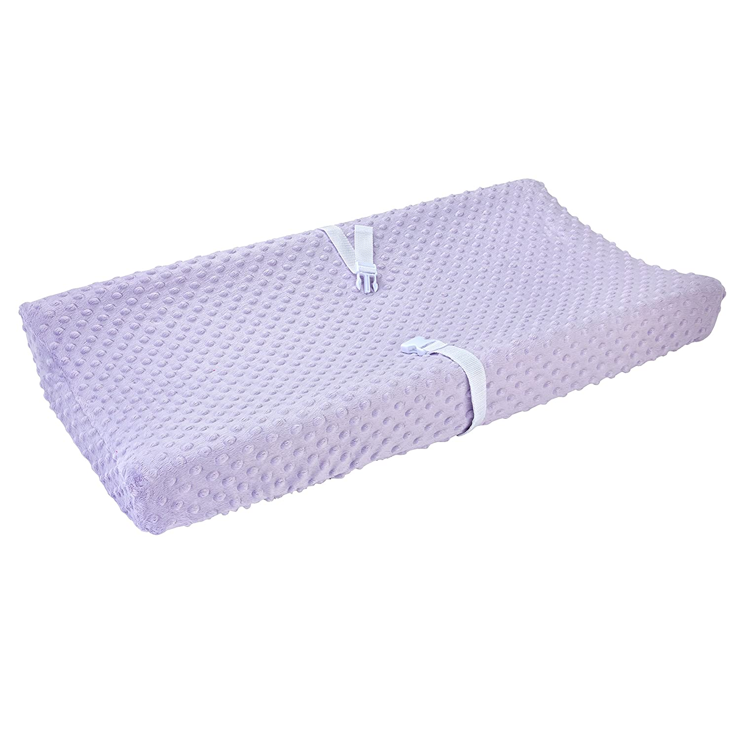 Carter's Changing Pad Cover, Solid Orchid, One Size