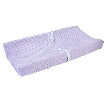 Solid Orchid Carters Changing Pad Cover One Size